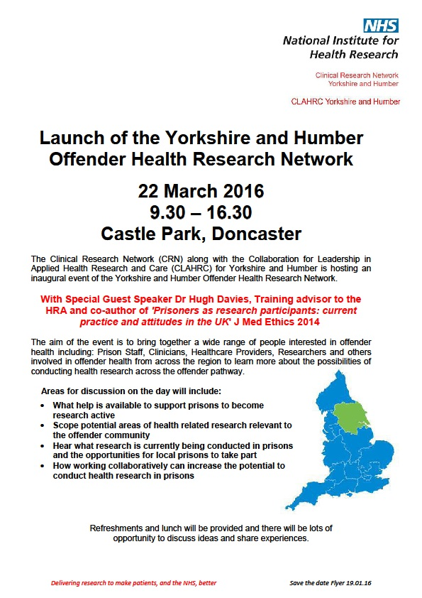 Offender Health Research Network